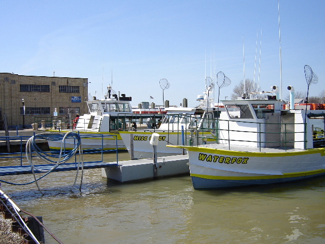 Port Clinton Fishing Charter Boats