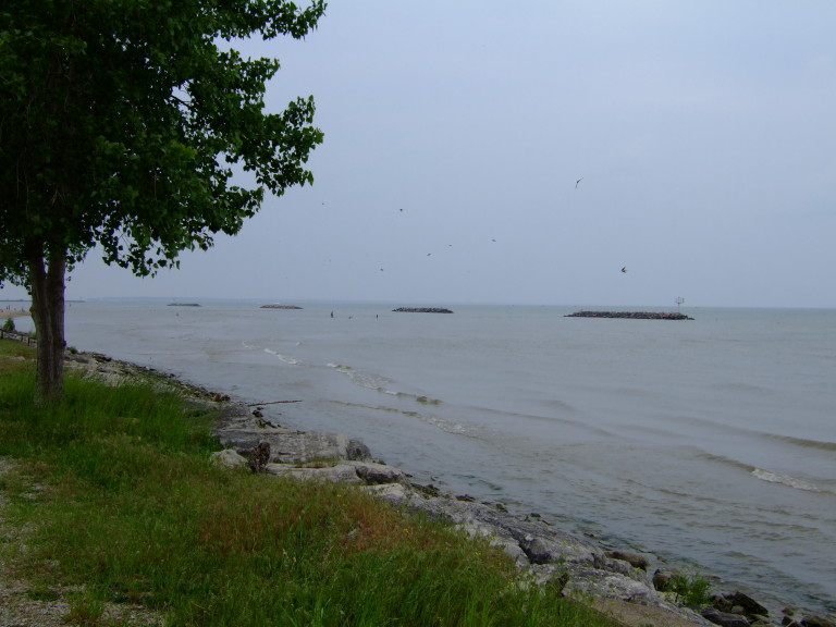 East Harbor State Park View of Lake Erie